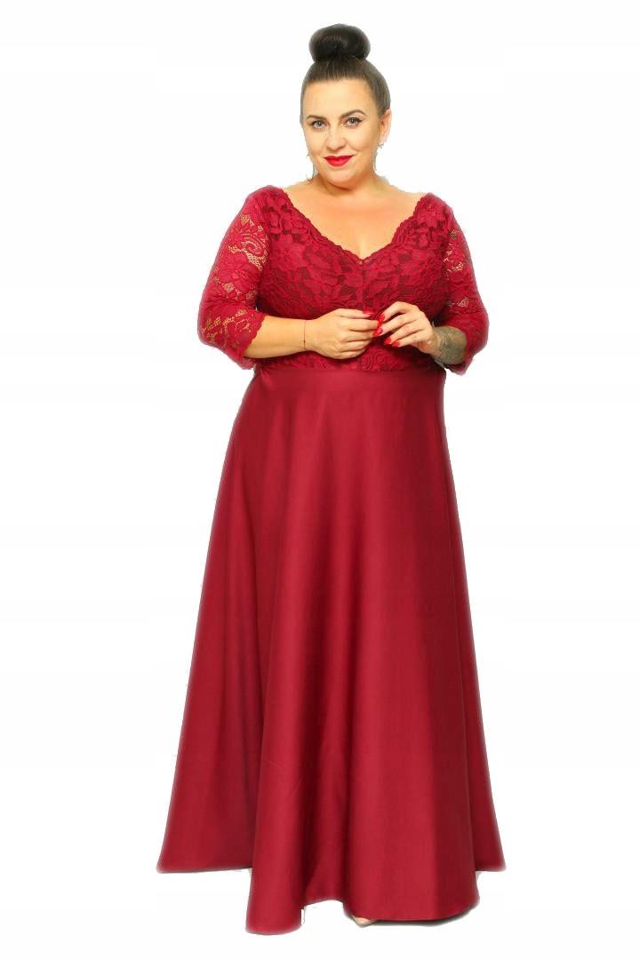 Elegancka Suknia wieczorowa Sukienka na wesele 46