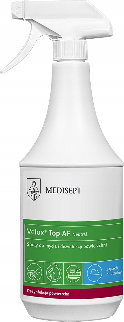 Płyn do dezynfekcji powierzchni Velox TOP AF 1L