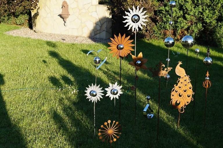 Купить Декорация садовая на пик павлин ржавчина на Otpravka - цены и фото - доставка из Польши и стран Европы в Украину.
