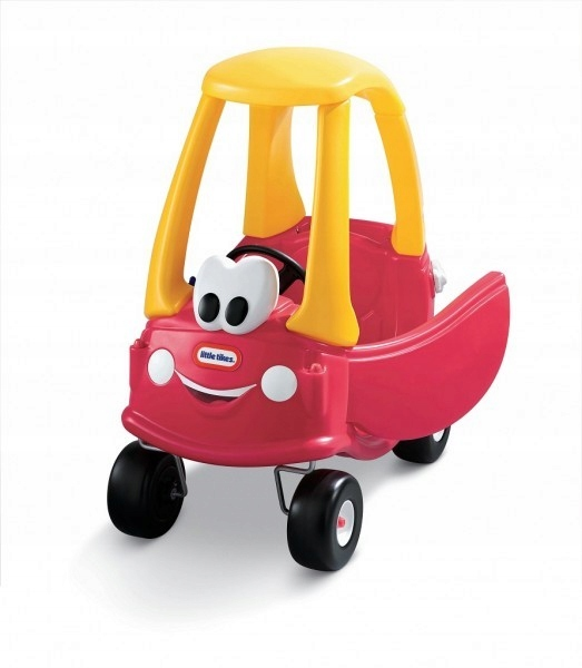 LITTLE TIKES Auto, Útulný Kupé červená