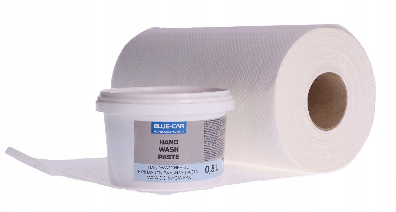 Паста для мытья рук 500 г + целлюлозное полотенце 60 м EAN 5900000178165