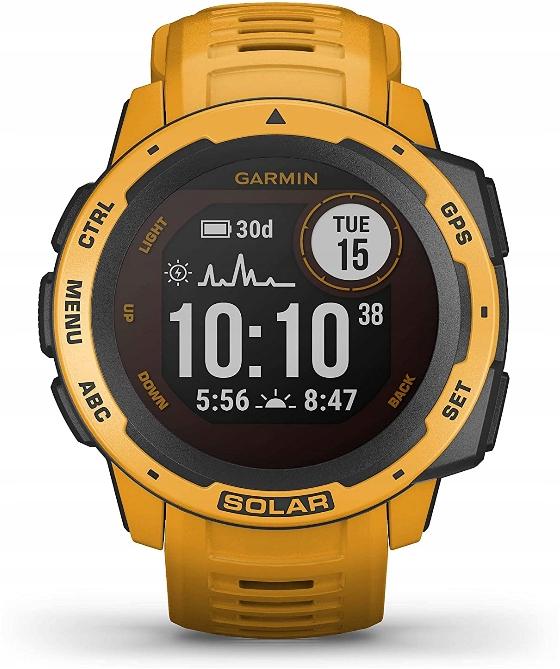 SmartWatch Garmin Instinct Solar Sunburst Watch