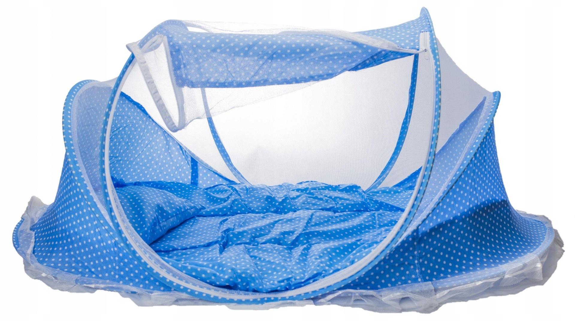 Туристический кроватный коврик с москитной сеткой 3in1