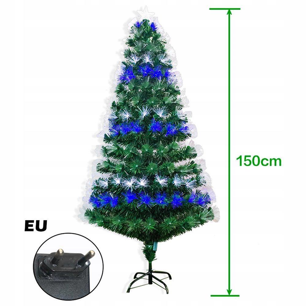 Prémiový osvetlený umelý vianočný stromček 150 cm