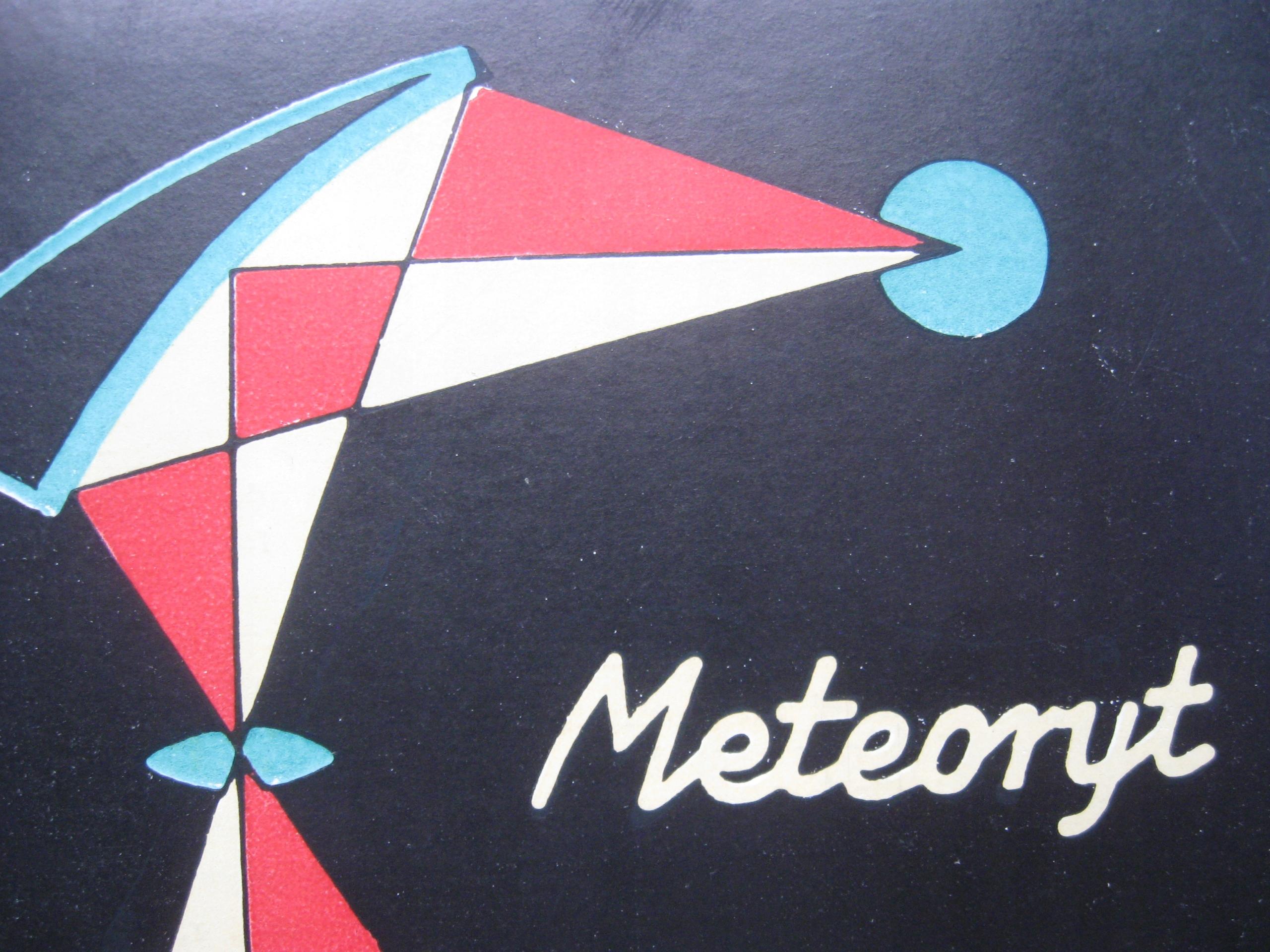 Manuálna karta Zväčšenie meteoritu.