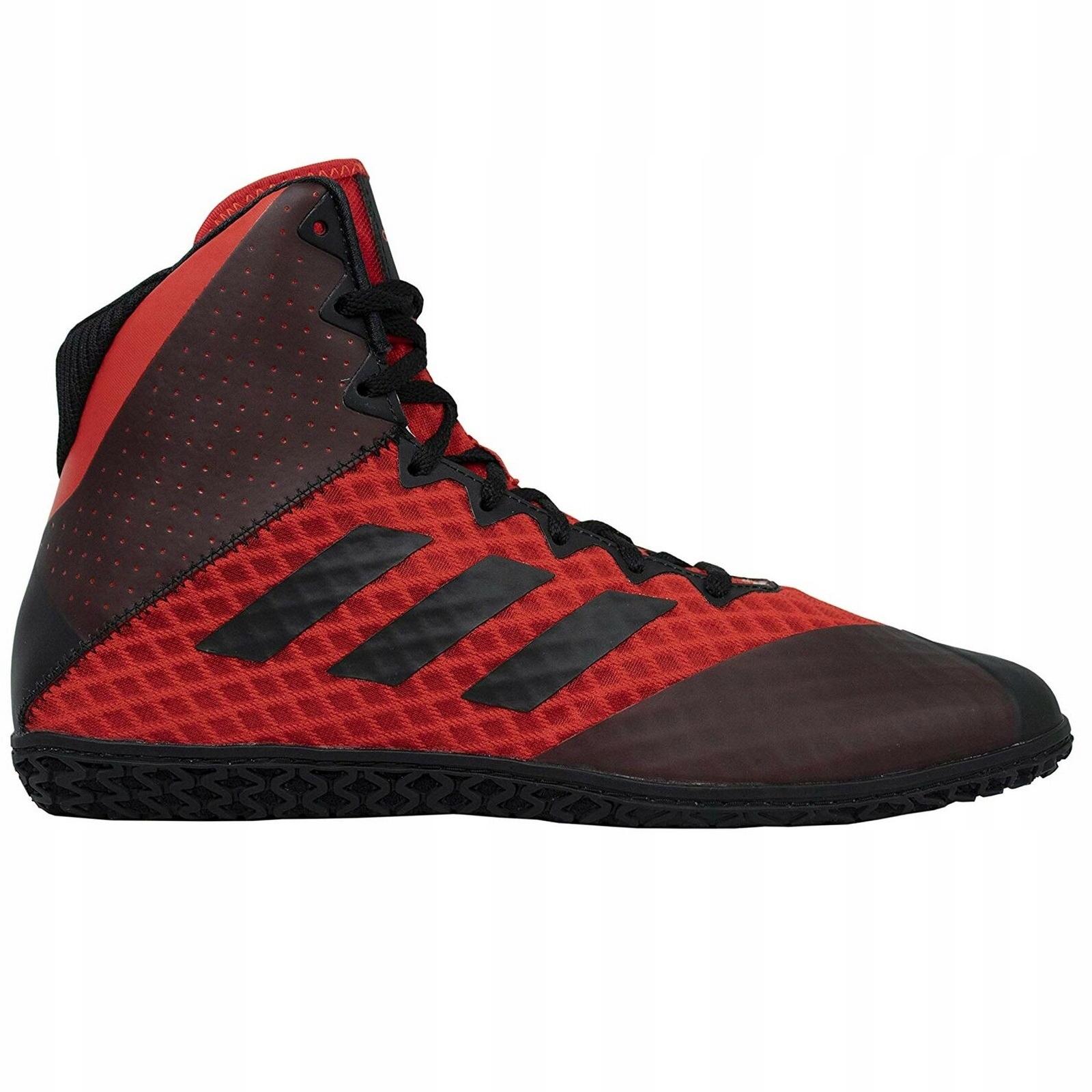 Купить Борцовские боксерские ботинки Adidas BC0532 Red на Otpravka - цены и фото - доставка из Польши и стран Европы в Украину.
