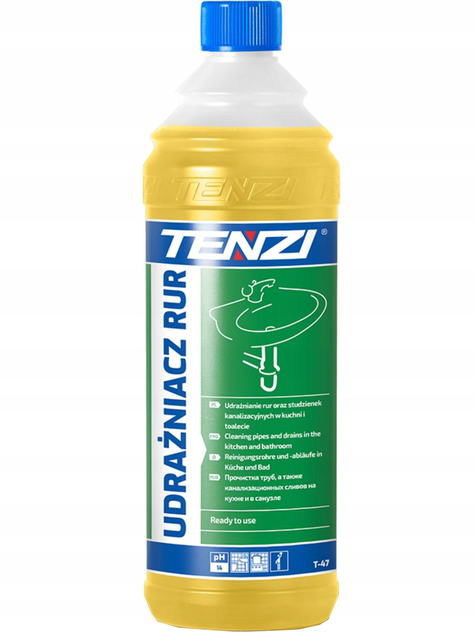 Мощный очиститель канализации Tenzi Drain Cleaner