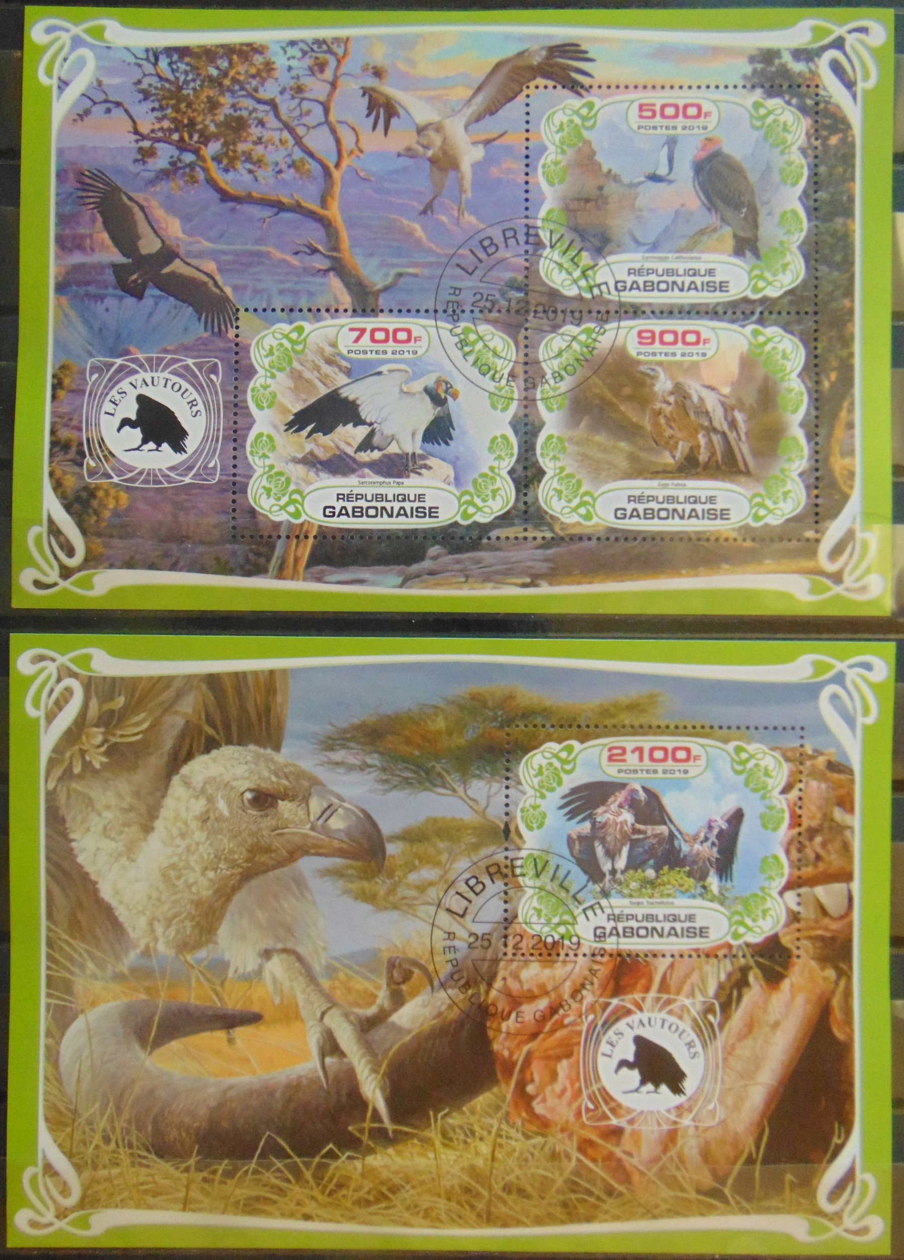 Купить Sępy sęp ptaki drapieżne Gabon ark.+blok #03259a-b на Otpravka - цены и фото - доставка из Польши и стран Европы в Украину.