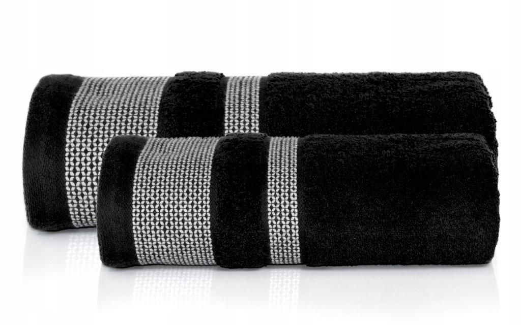2x DETEXPOL PREMIUM полотенца 100% хлопчатобумажный черный
