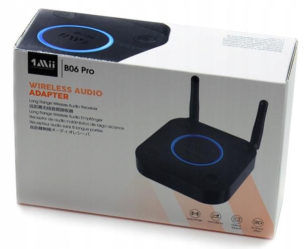 Odbiornik Audio Bluetooth 1Mii B06 PRO 60m Toslink Model Odbiornik Bluetooth 1Mii B06 PRO 60m