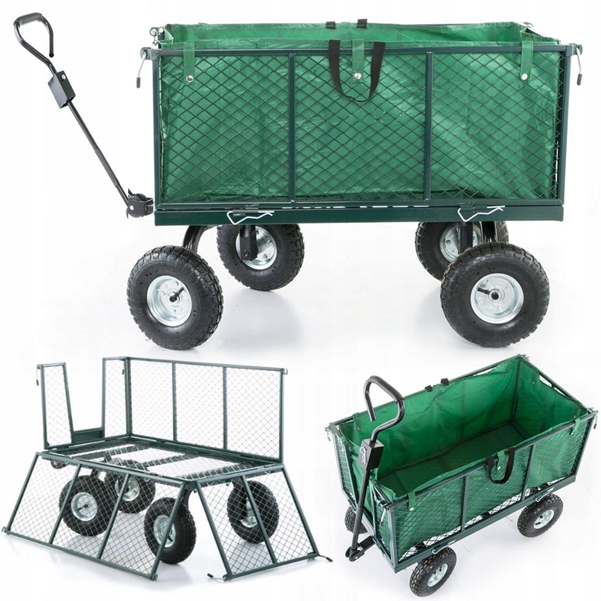 коляска садовый транспортный прицеп 450kg