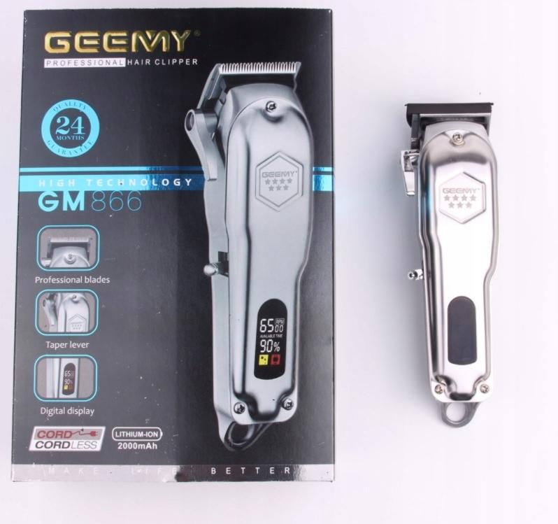 MASZYNKA DO STRZYŻENIA WŁOSÓW BRODY PROFESSIONAL Model GM866