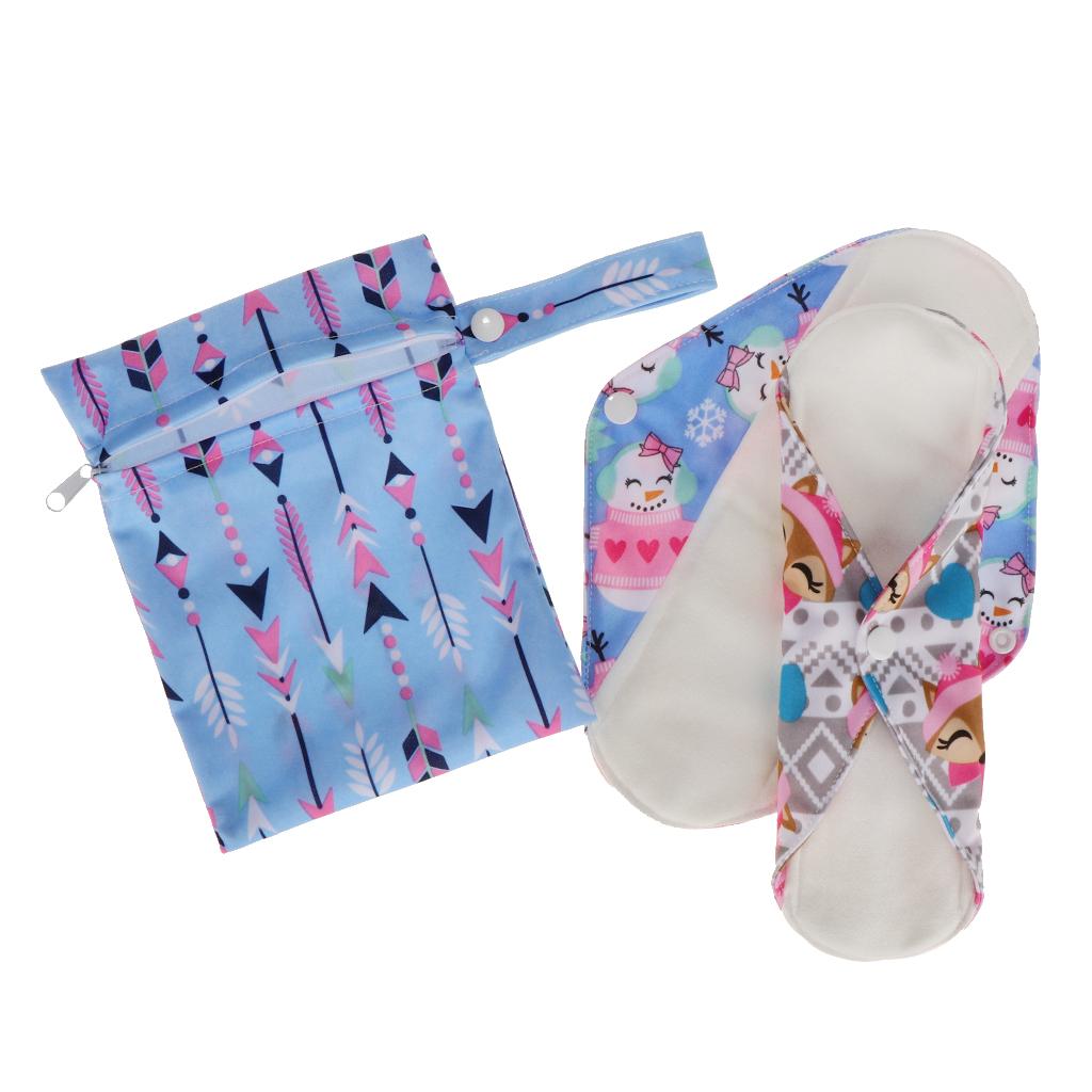 Менструальные прокладки многоразовые 02