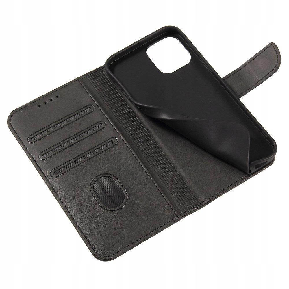 Etui z Klapką Magnet Case+ szkło do Xiaomi Redmi 9 Materiał skóra ekologiczna