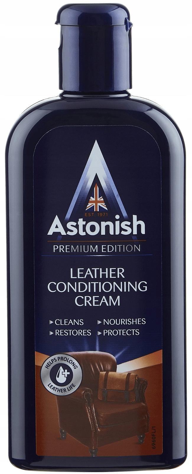 Astonish Premium Кожа Кожаное Молоко 250ml Великобритании