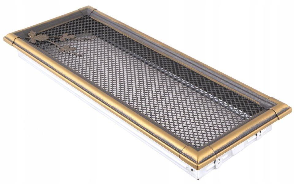 Vetracia mriežka RETRO 16x45 zlatá
