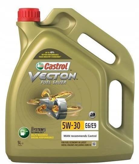 OLEJ CASTROL VECTON FUEL SAVER 5 L 5W-30 EL/E9