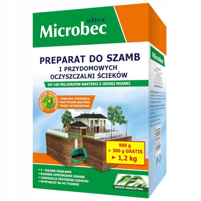 BROS MICROBEC ULTRA BAKTERIE DO SZAMB 1,2KG EUKAL.