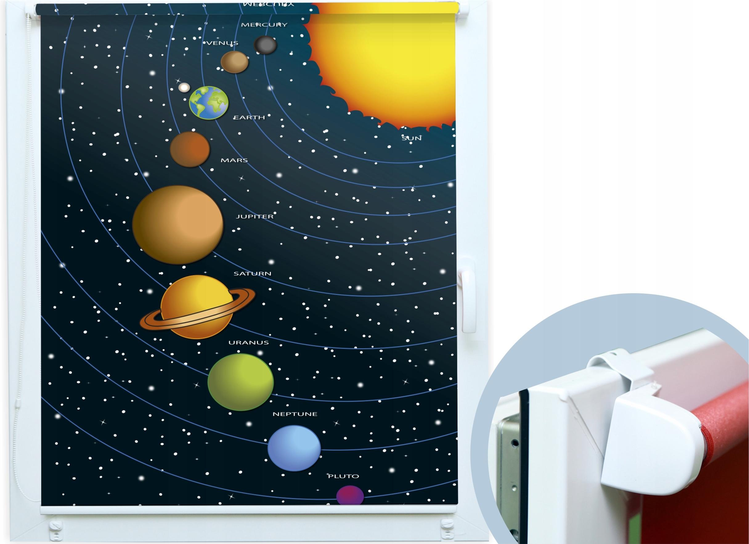 ЖАЛЮЗИ ДЛЯ ДЕТЕЙ Solar System Astronaut Night
