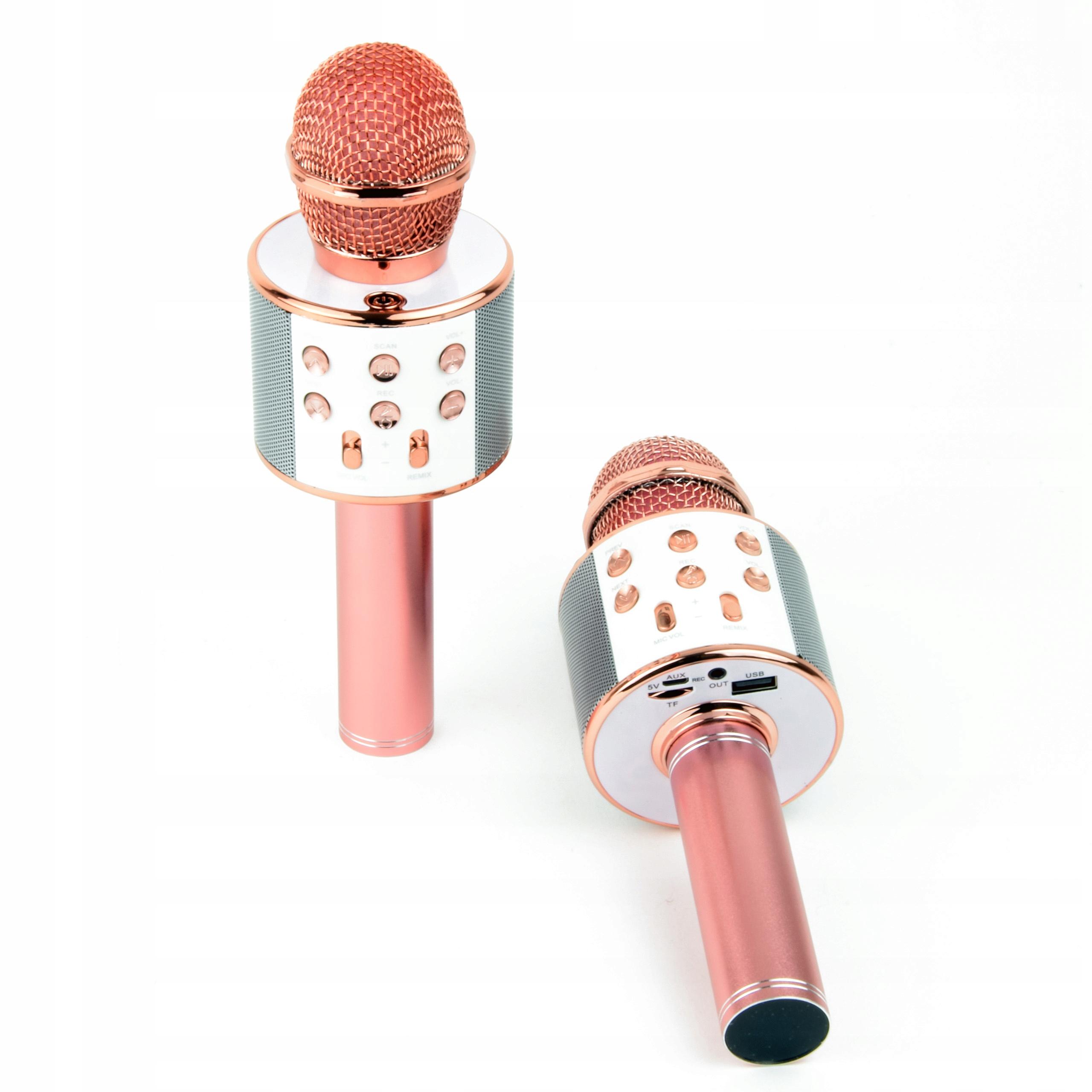 Bezdrôtový reproduktor s mikrofónom karaoke Bluetooth