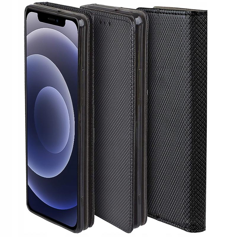 Etui do iPhone 12 Case Magnet Portfel + Szkło 9H Dedykowany model iPhone 12