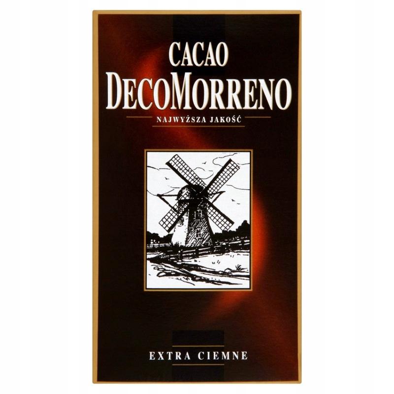 DecoMorreno Какао с низким содержанием жира 80 г