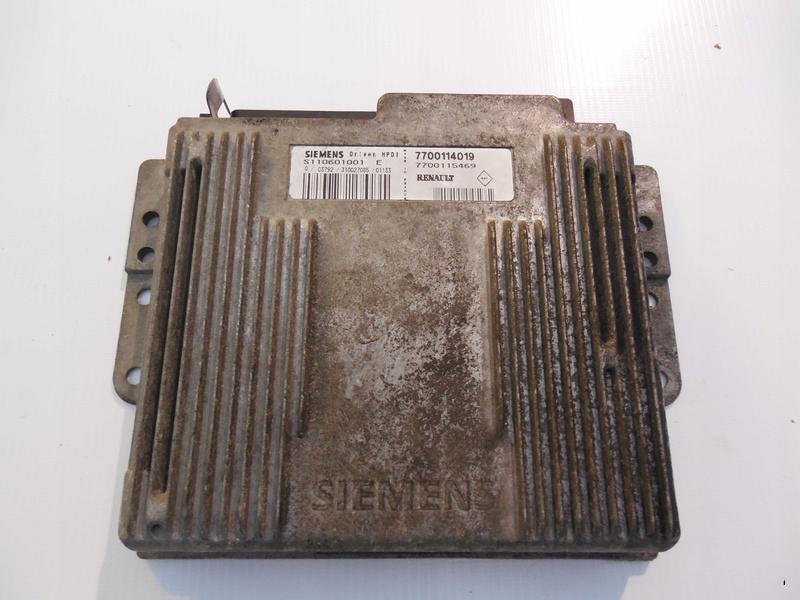 megane 1 i компьютер драйвер двигателя 20 ide 16v