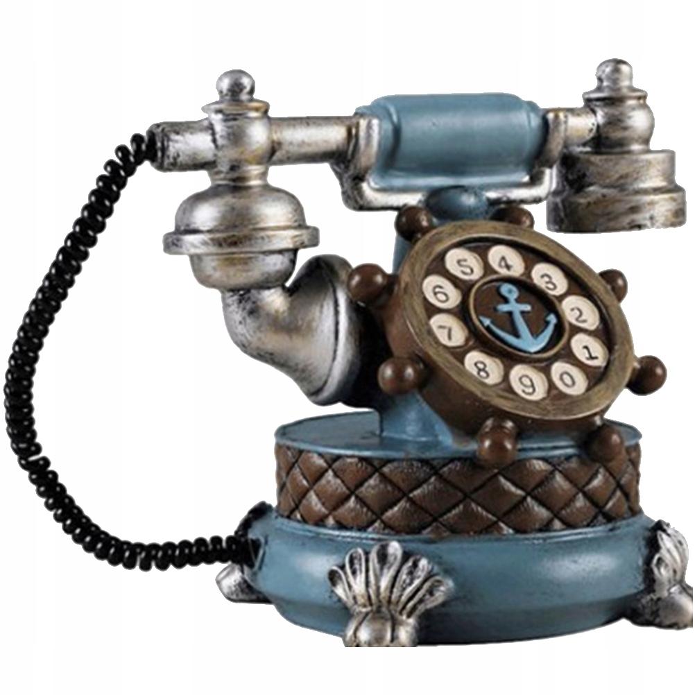 Pevný telefón v retro štýle Kreatívne ozdoby