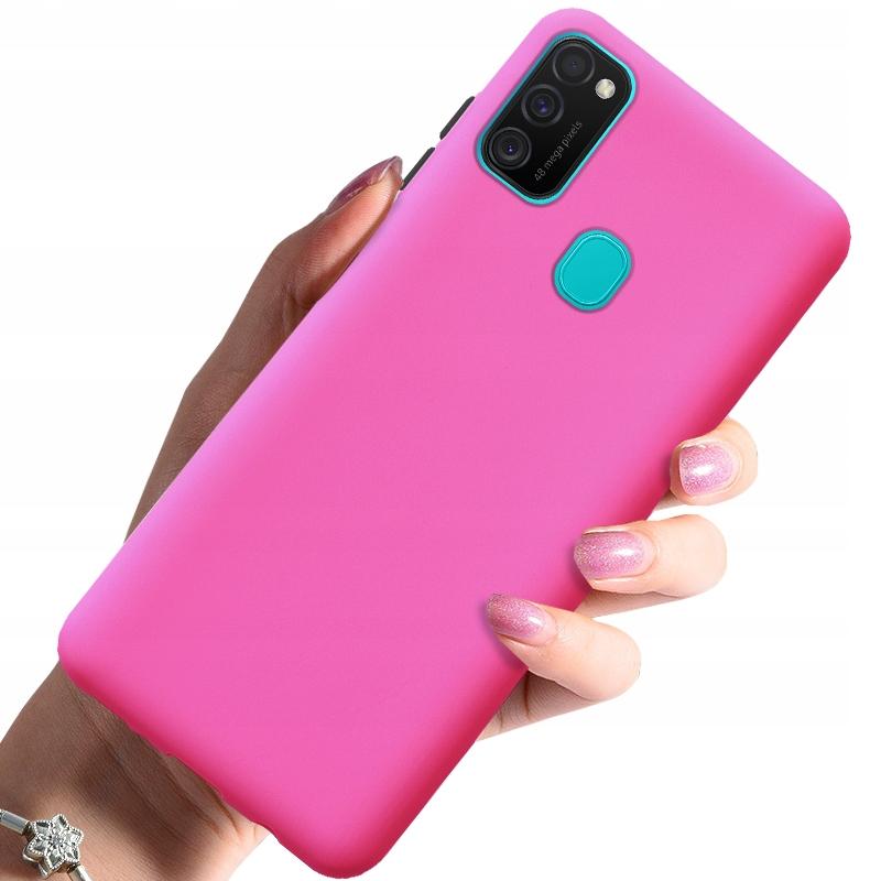 Etui do Samsung Galaxy M21 Case Silikon + Szkło Dedykowany model Samsung Galaxy M21