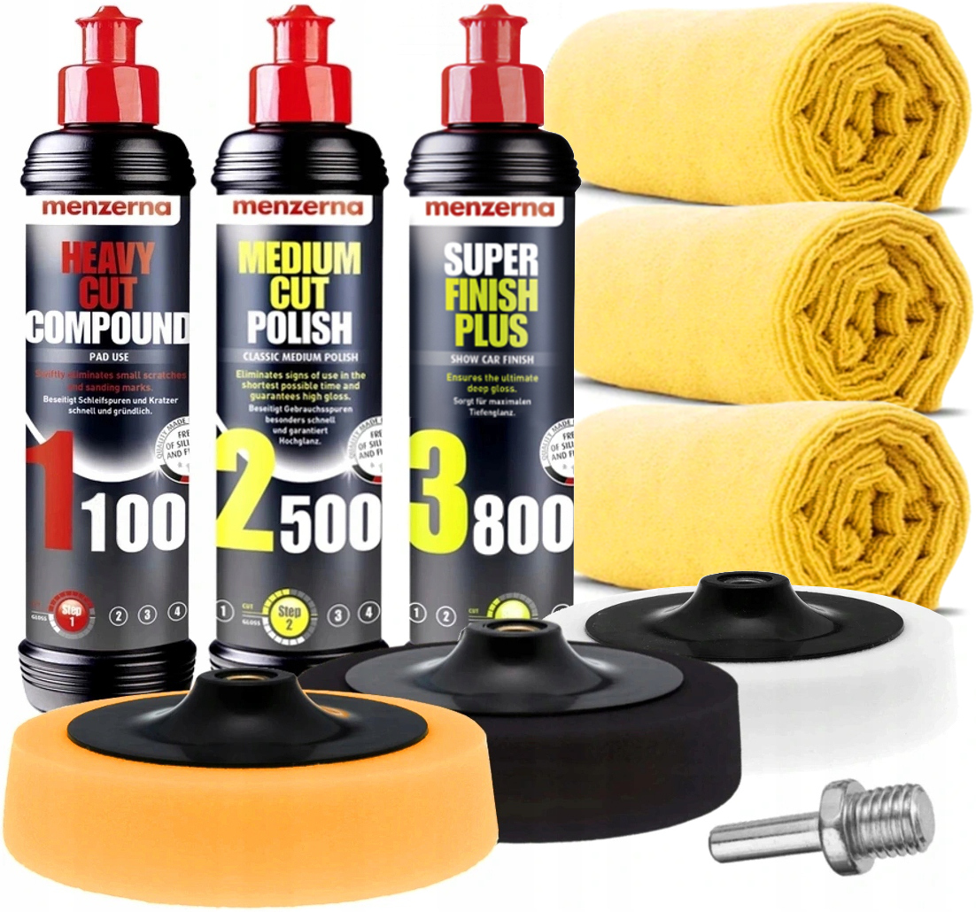 Menzerna KIT FOR POLISHING PAINT губчатая паста