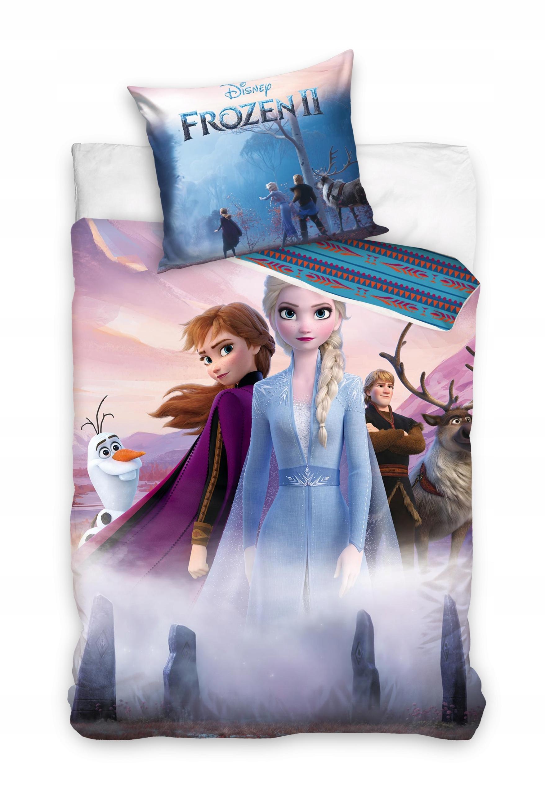 Posteľná bielizeň 140x200 Frozen Children Elsa