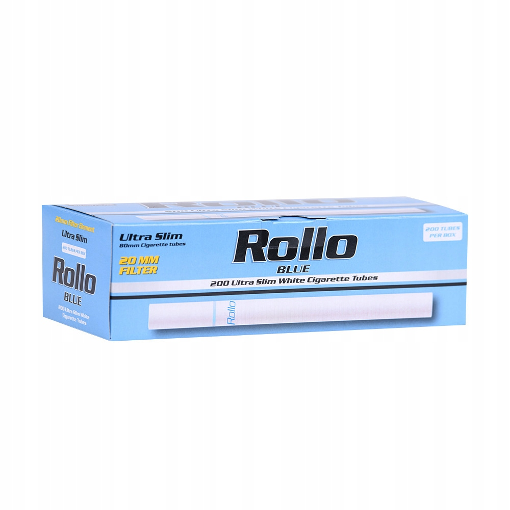 ROLLO BLUE 200 ULTRA SLIM гильзы для сигарет 6,5 мм