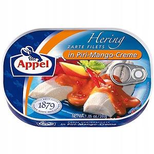 Appel Filety śledziowe w kremie piri mango 200g