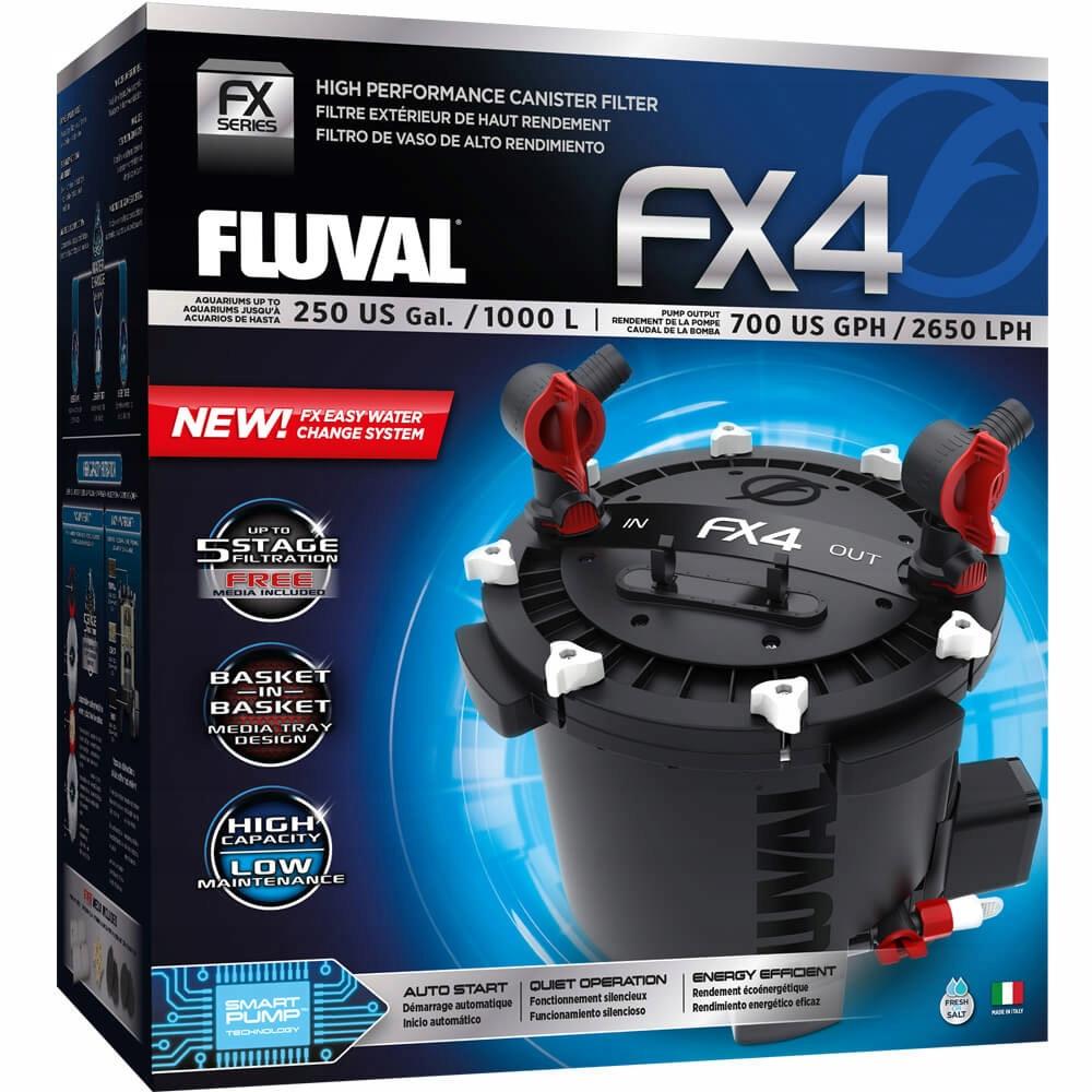 FLUVAL FX4 внешний фильтр до 1700Л / ч +++бесплатно! Длина 40 см