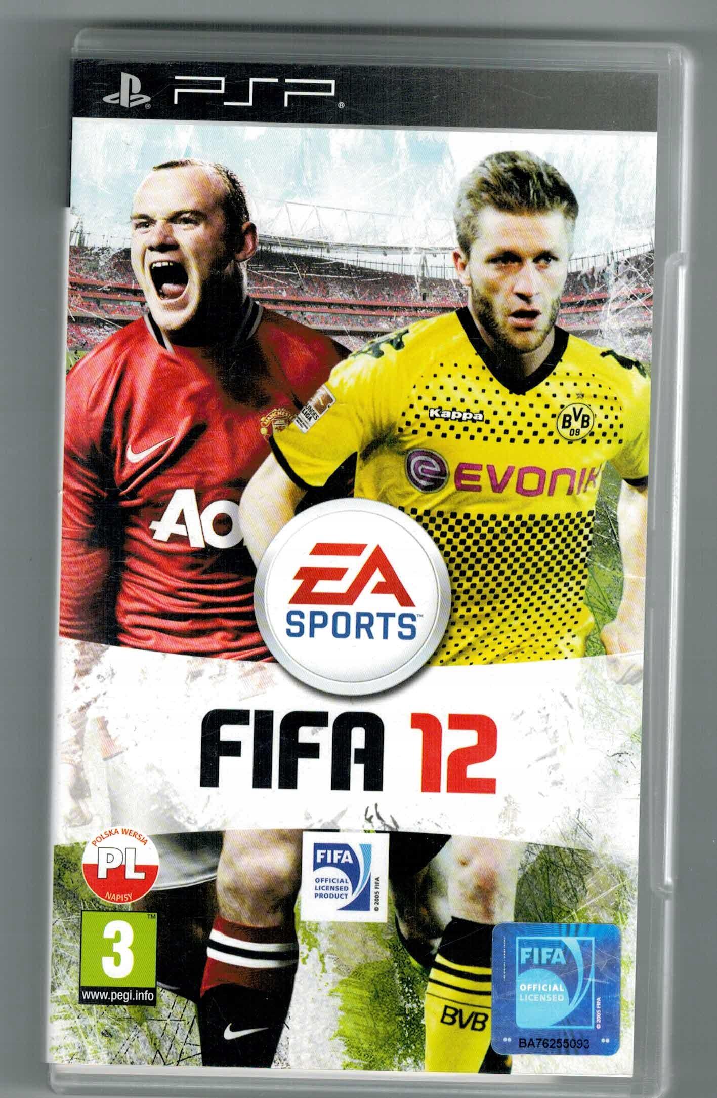 Gra Sony Psp Fifa 12 Ea Sports Stan Uzywany 9601607627 Allegro Pl