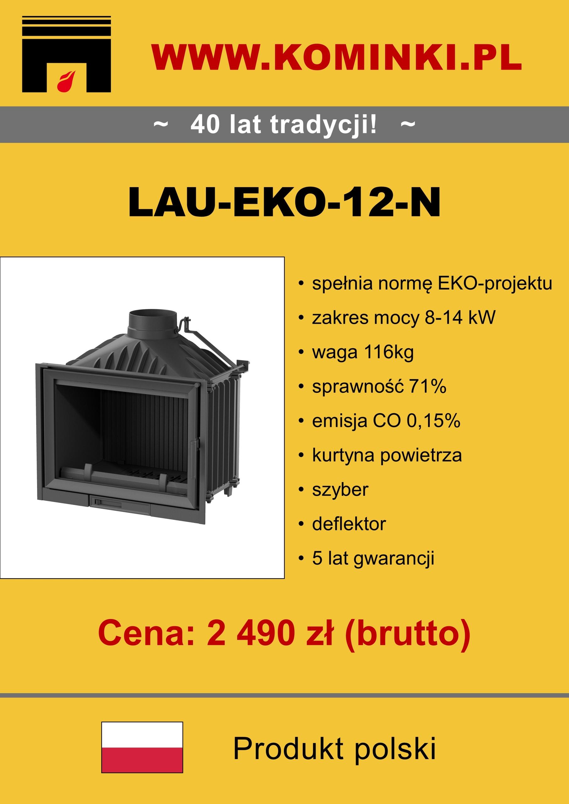 HIT - 40% - Krb 12 kW - Krbová vložka