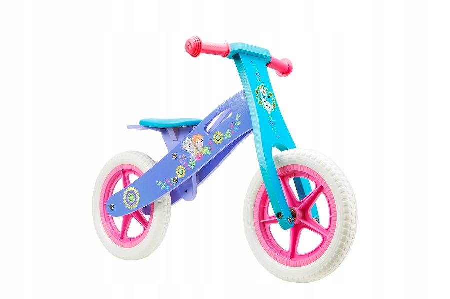 Drevený bežecký bicykel Frozen