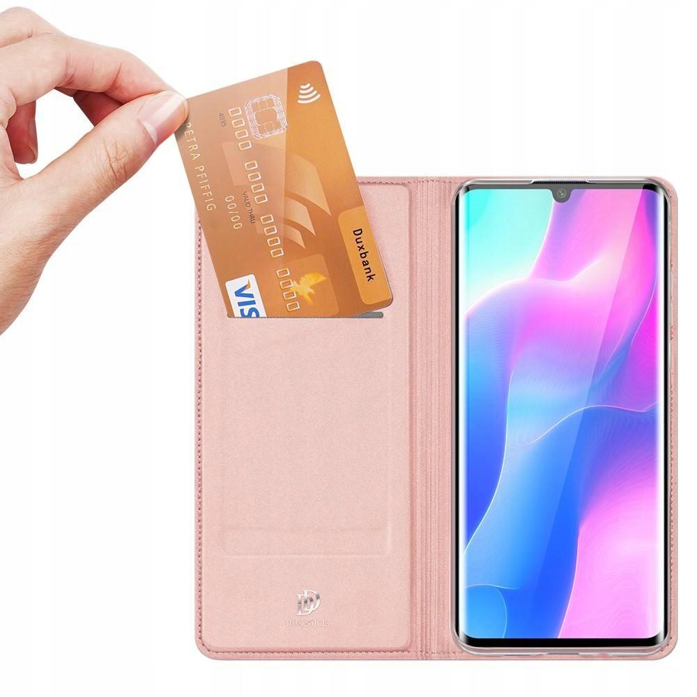 Etui DUXDUCIS + szkło UV do Xiaomi Mi Note 10 Lite Kolor różowy