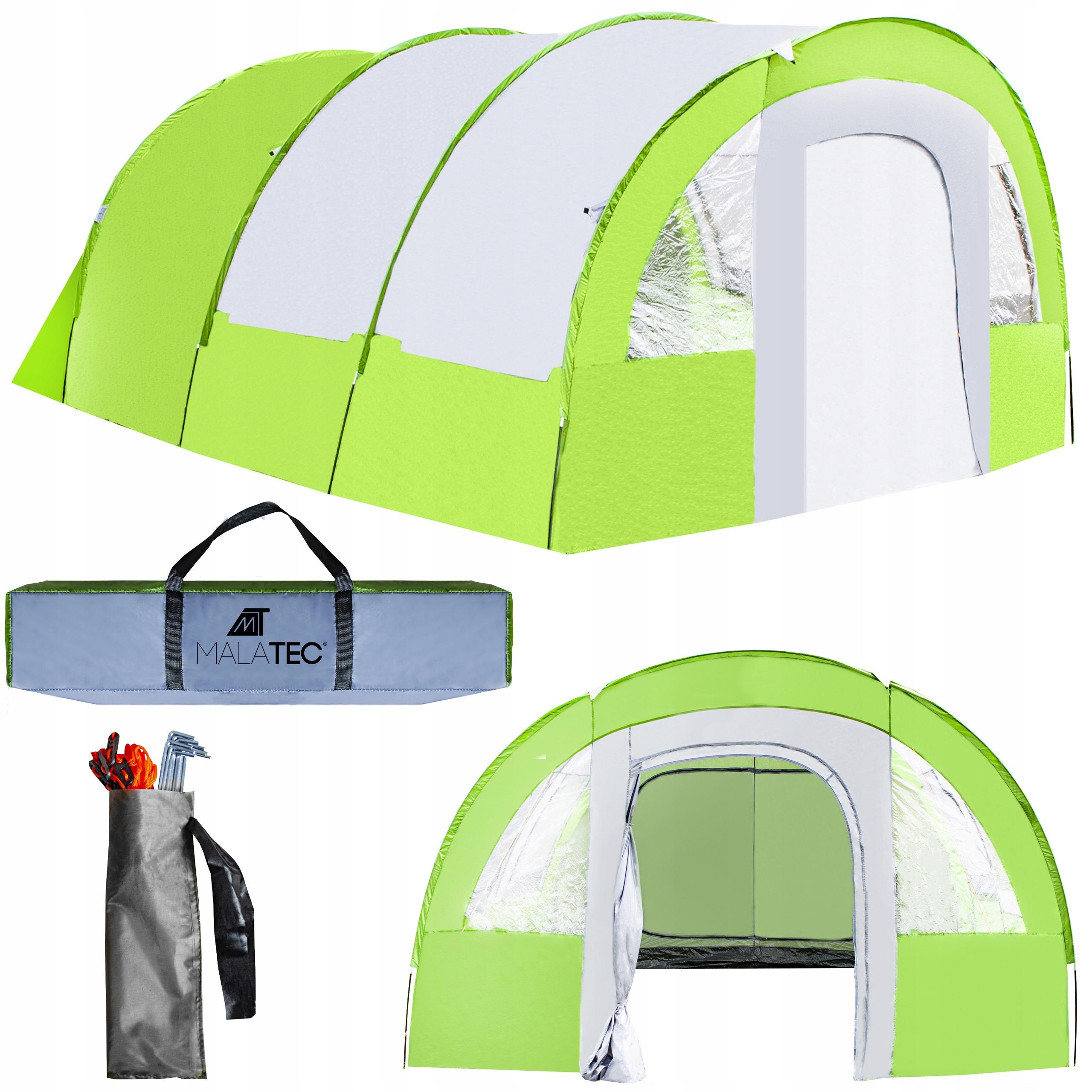 Туристическая палатка Большой вестибюль на 8 человек XXL