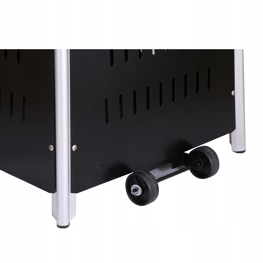 Vykurovací dáždnik Radiant Pyramid 13 KW + Freebies Maximálny vykurovací výkon 13 kW