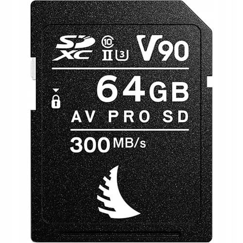 Купить Karta pamięci Angelbird AV PRO SD MK2 64GB V90 на Otpravka - цены и фото - доставка из Польши и стран Европы в Украину.