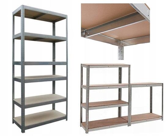 СТЕЛЛАЖ складской металлический 225x90x40 6 полок 1320kg