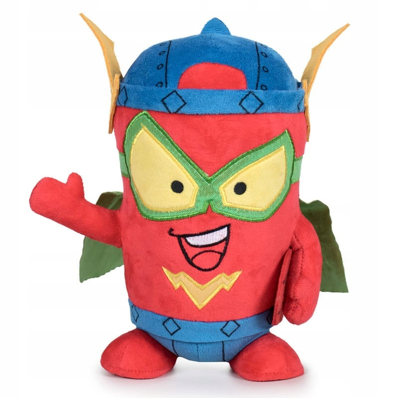 SUPER ZINGS KID FURY MASCOT PLUSH TOY 0+