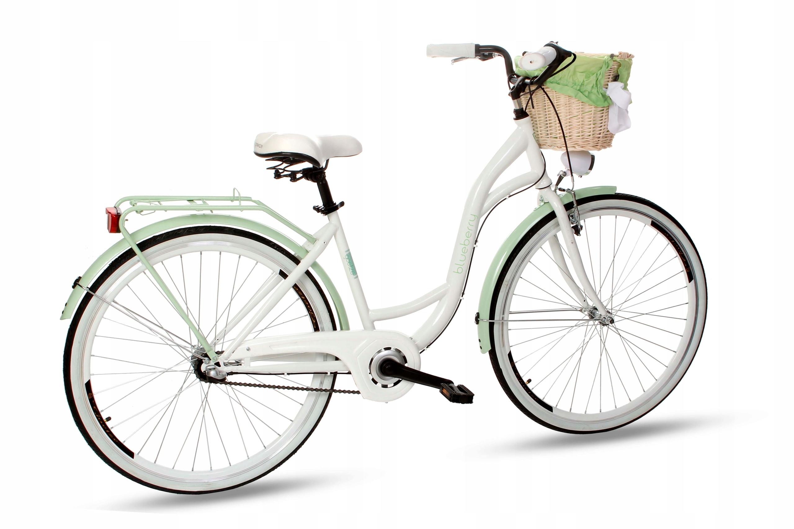 Dámsky mestský bicykel Goetze BLUEBERRY 28 3b košík!  Farba iná