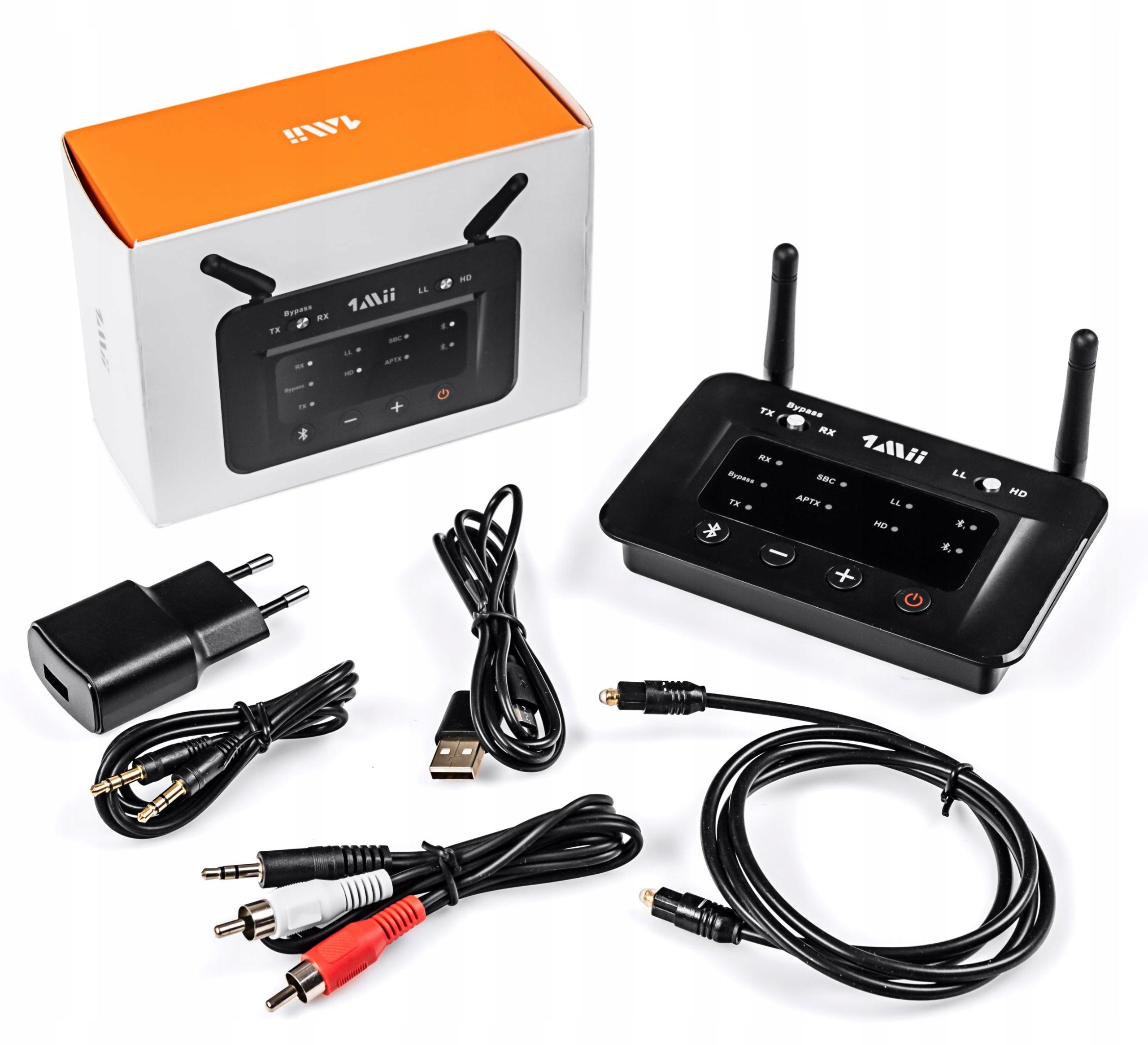 Nadajnik Odbiornik Bluetooth NFC 1Mii B03 do 70m