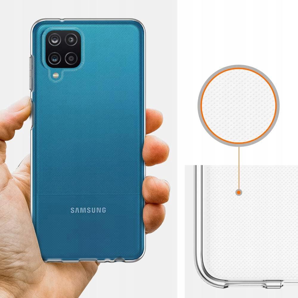 Etui Clear Case 2mm do Samsung Galaxy A12 Kolor bezbarwny