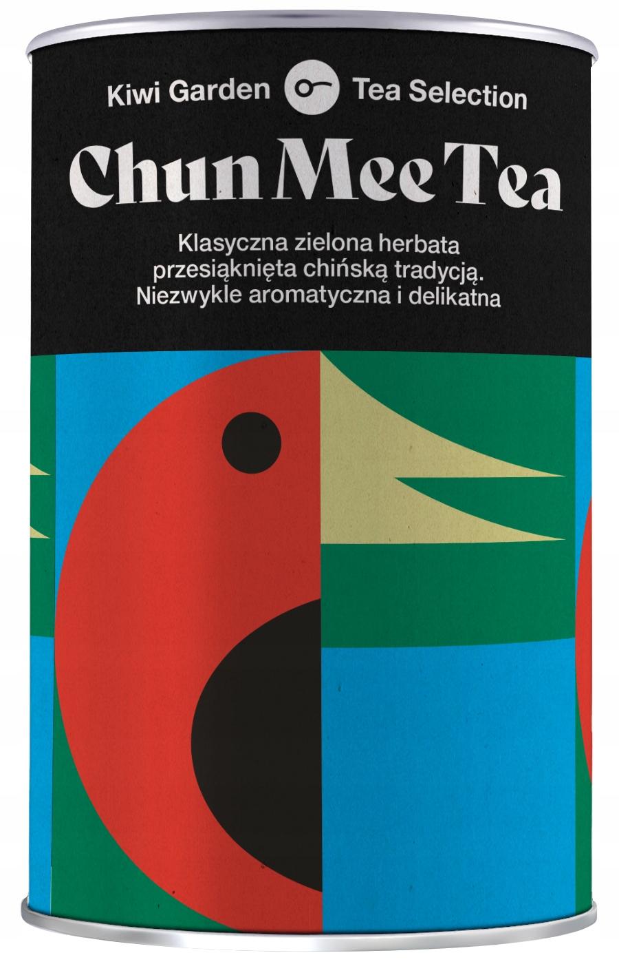 Зеленый листовой чай Chun Mee KiwiGarden 100гр