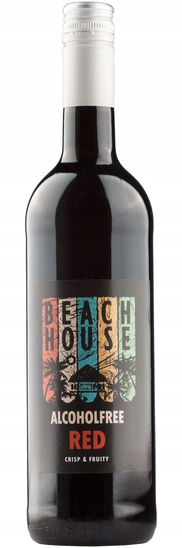 BEACH HOUSE - сладкое красное безалкогольное вино.