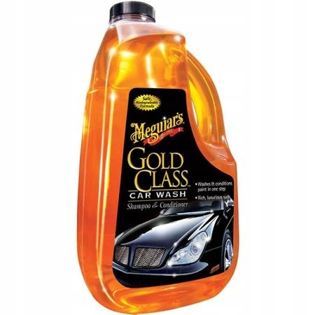 Meguiars Шампунь Gold Class Car Wash ПРИДАЕТ БЛЕСК
