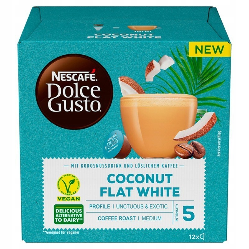 Nescafe Dolce Gusto Coconut Flat White капсулы 12